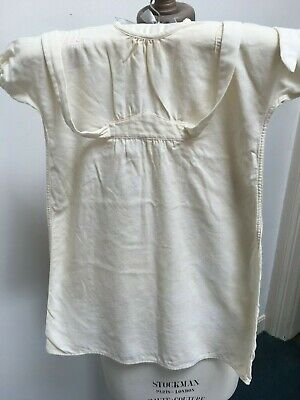 2 Vintage 1951 VIYELLA baby nightdresses TV FILM MUSEUM prop Wool and Cotton mi