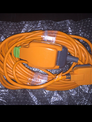 15m Caravan, Garden, Camping Hook Up Cable 13amp  Extension Lead Electric **