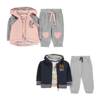 Character Baby Sets 3 Piece Tracksuit Jump Suit Tracksuit Leisure 0138