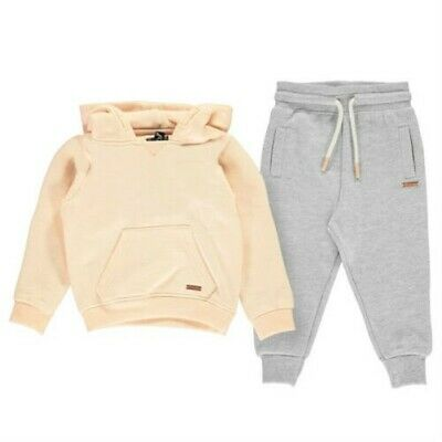 Firetrap Baby Sets 2 Piece Tracksuit Girl Trackies Tracksuit 2216