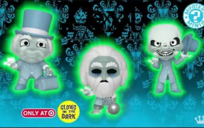 Funko POP MINIs GITD Ghosts Haunted Mansion TARGET Hitchhiking + Others DISNEY