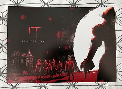 IT Chapter Two ODEON A4 Poster 1: Stephen King, Pennywise, Chapter 2