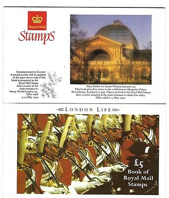 1990 G.B Prestige Stamp Booklet - London Life  - DX 11