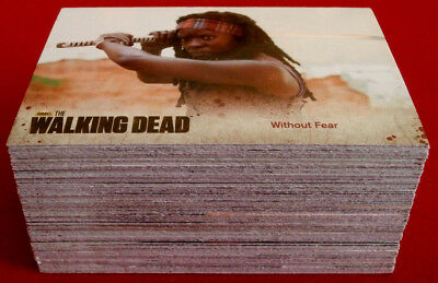 THE WALKING DEAD - Season 3 - Part 2 - COMPLETE BASE SET (72 cards) - Cryptozoic