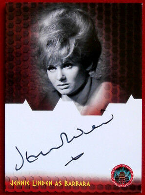 DR WHO AND THE DALEKS - JENNIE LINDEN as Barbara - Autograph Card - Unstoppable