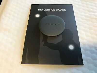 Genuine Volvo Reflective Badge Winter Gift
