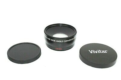 Vivitar HD4 MC AF High Definition Wide Angle Converter w Macro Japan Optics Lens