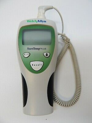 WELCH ALLYN Sure Temp Plus 692 Thermometer Works Great Free Shipping