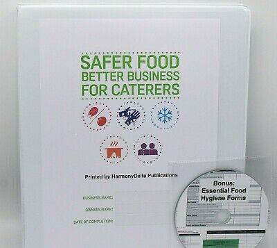 2019 Safer Food Better Business Caterers Pack & 18 Month Diary & Free CD & Sign