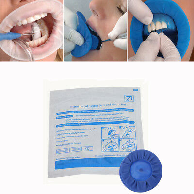 Disposable Dental Mouth Gag Cheek Retractor Expanders Sterile Rubber Dam c US