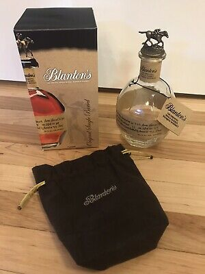 Blanton's Empty Bottle. Box, Stopper 'N', Tag & Bag Included.