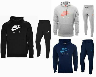 HERREN NIKE JOGGEN Fleece mit Kapuze Trainingsanzug Top
