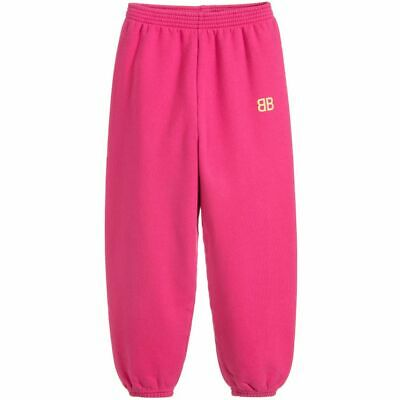 NEW Balenciaga Girls Pink Joggers 6 years old