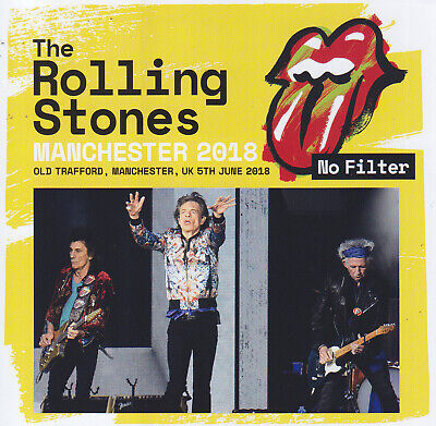 THE ROLLING STONES - No Filter - Manchester 2018  *Sealed*