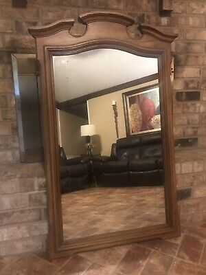 "STANLEY FURNITURE Italian Provincial Wall Mirror 49.25"" TALL X 32.75"" WIDE"