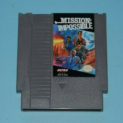 Mission: Impossible Nintendo Entertainment System, 1990 NES CART ONLY