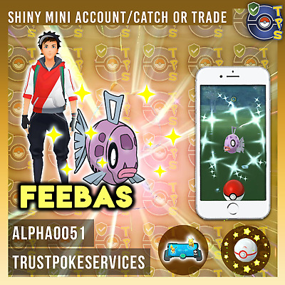 Pokemon Go Shiny Feebas SHINY Catch Guaranteed !