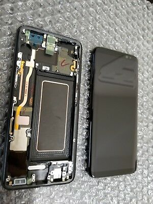 Mint Samsung Galaxy S8 G950 LCD Digitizer Touch Screen Black Frame - Dot / SBI