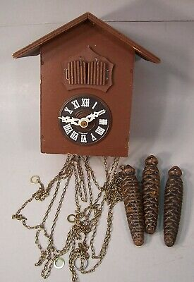 Double Cuckoo Clock, Black Forest, Bavaria, Germany
