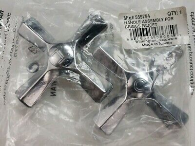 Handle Assembly For Briggs Faucet- Hot And Cold