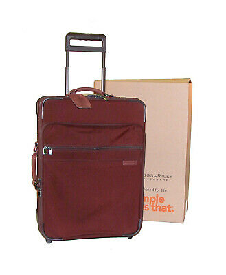 """Briggs & Riley Baseline Collection 24"""" One-Touch Expandable Upright ~U24NX Brick"""