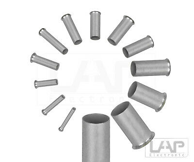 10 - 1000 Zoller + Cheerful Uninsulated Wire Ferrules cross Section 0,14 - 25 mm