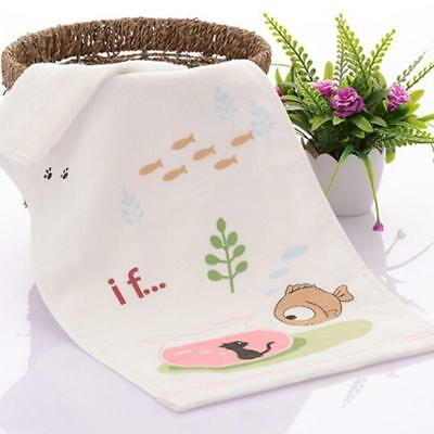 8x Infant Face Bath Towel For Feeding Bathing Washcloth Terry Wipe burpy bibs EV