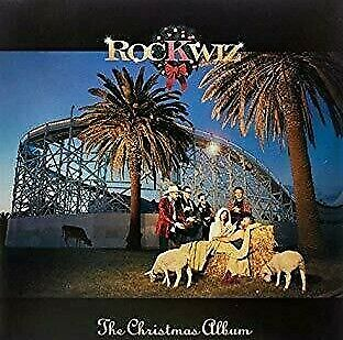 Various ‎– Rockwiz The Christmas Album on Red Vinyl LP Liberation NEW/SEALED
