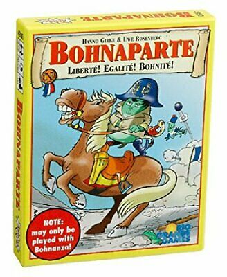 Bohnanza Card Game: Bohnaparte Expansion Rio Grande Games BRAND NEW ABUGames