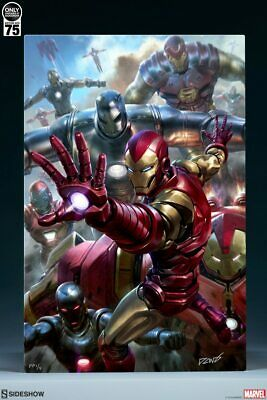 Sideshow Collectibles Iron Man House Party Protocol HD Aluminum Metal Variant