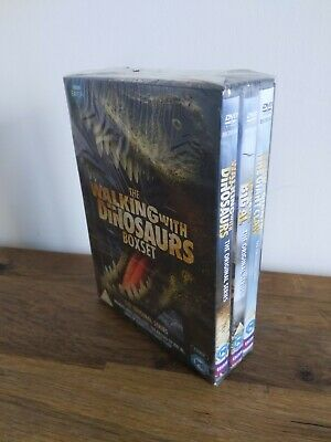The Walking With Dinosaurs BBC Series Complete Collection DVD - Disc Box Set
