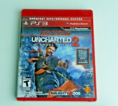 Uncharted 2 Among Thieves Ps3 Good Condition Tested