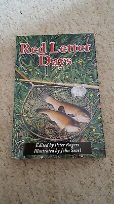 VERY SCARCE Fishing book RED LETTER DAYS 1st edition carp pike tench