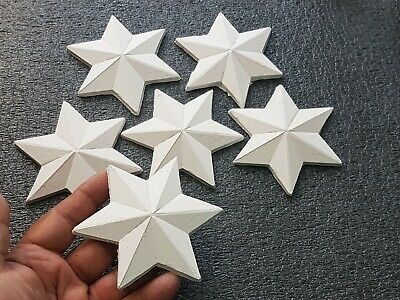 Decorative Plaster Starts, 20 Pieces, Size 10 X 10 cm, Home Décor,  Art & Croft