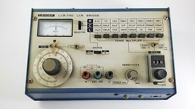 Leader Electronics Corp Japan, LCR-740 LCR Bridge, Tested, Free Shipping