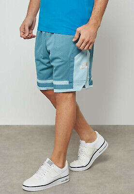 Nike AF1 Air Force One Loose Fit Shorts Blue Copper AH8509