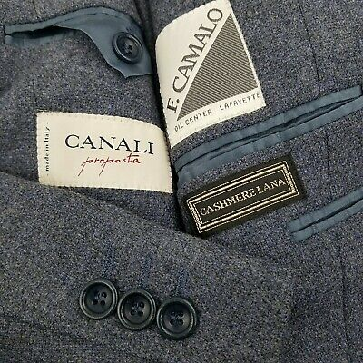 CANALI Proposta 42R Sport Coat Men's Wool CASHMERE 3 Button Jacket Italy