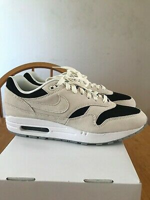 DS NIKE AIR Max 1 White Black Volt Rush Pink size 9 mens