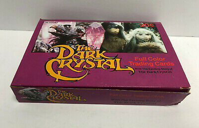 1982 Donruss THE DARK CRYSTAL Unopened Trading Card Box (36 sealed packs)