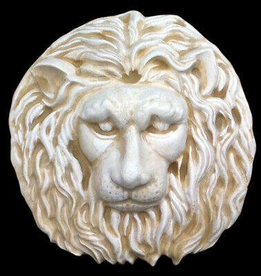 Roman Lion Head wall sculpture