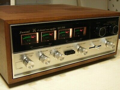 Sansui Qs-500  4 Channel Amplifier / Made In Japan / Serviced & Cleaned