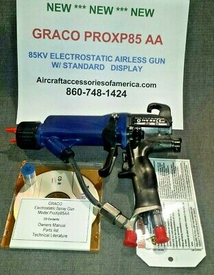 New Graco Pro Xp 85Aa Electrostatic Spray Gun