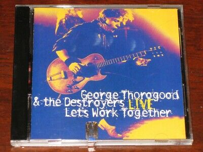 George Thorogood & The Destroyers Live - Classic Blues/Rock CD Album