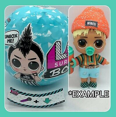 LOL Surprise ☀️ SUNNY ☀️ Boy Doll NEW SEALED Boys Series 1 Ball Dawn's Brother