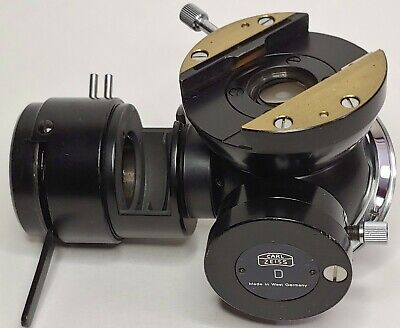 Zeiss Vertical Illuminator  With Dark Field Reflector Insert