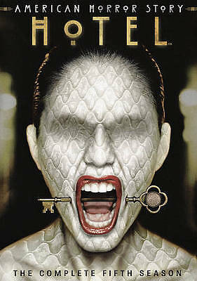 New & Sealed American Horror Story Season 5 Hotel Dvd Set (Free Shipping)