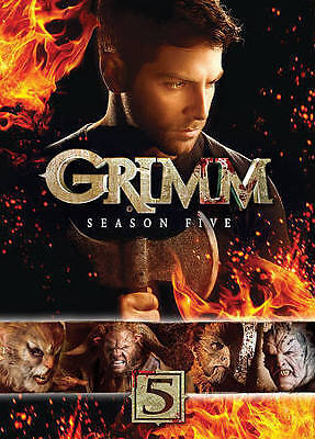 New & Sealed Grimm Season 5 DVD SET (Free Shipping)