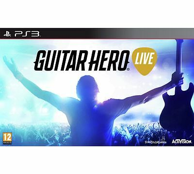 Brand New Sealed - PS3 Guitar Hero Live (with Guitar Controller)