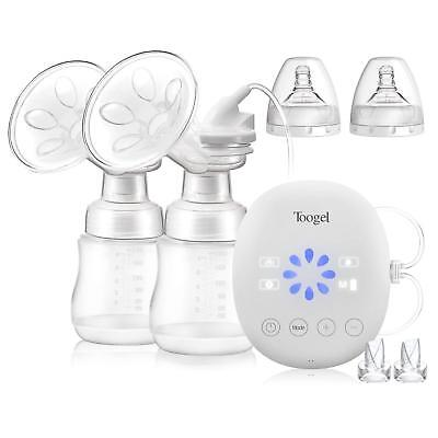 Electric Breast Pump Double/Single Rechargeable Breastfeeding Pump Comfortable M