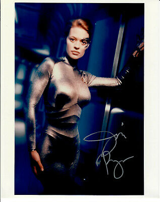 Original Autogramm Jeri Ryan als Seven of Nine aus Star Trek, 20x25cm